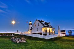Pemaquid Point Lighthouse by Kay Gaensler on Flickr - The Pemaquid Point Lighthouse is located in Bristol, Maine, at the tip of the Pemaquid Peninsula