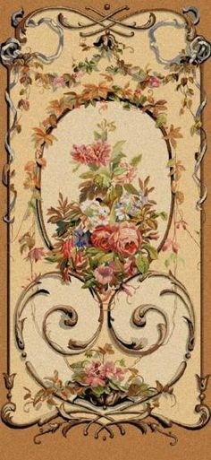 this would be lovely decoupaged onto the panels of a dollhouse wardrobe