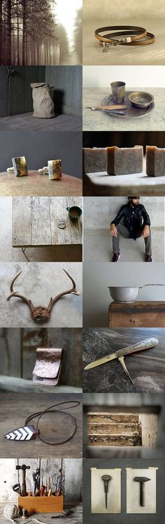 rustic gift ideas for him :: treasury by Barbara on #Etsy #gifts #men #forhim #rustic #vintage #decor #home #fashion #accessories