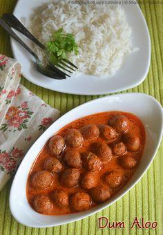 Kashmiri Dum Aloo Recipe - No Onion No Garlic Recipes