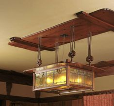 Ceiling Light fixture, 1908, Gamble House, Greene and Greene Architects