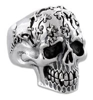 Sterling Silver Jigsaw Skull Ring - Featuring this pure sterling silver skull ring that offers a unique design in today's fashion. This pure sterling silver is hand . Skull Wedding Ring, Skull Engagement Ring, Silver Skull Ring, Skull Rings, Skull Jewelry, Gothic Jewelry, Jewellery, Crane, Badass Skulls