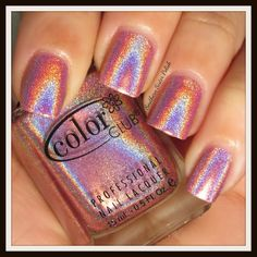 Miss Bliss: Color Club Holo Hues 2013 Collection