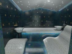 Steam Bath, Steam Spa, Steam Room, Sauna Room, Turkish Bath, Spa Design, Jacuzzi, Sauna Ideas, Relax