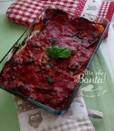 La #Parmigiana di #Melanzane (#Aubergine, #Tomato and #Mozzarella bake) ITA-ENG #Recipe