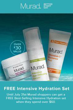 murad free intensive hydration set home