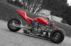 CB 600 Hornet reverse trike
