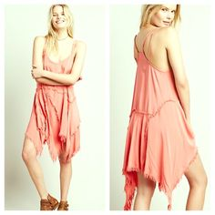 FREE PEOPLE NWT A Line Lace Cape Tank Dress NWT NWT IN SOLD OUT COLOR CORAL BLUSH! Retail $88. 💗 Asymmetrical semi pleated raw hem Striped. Pastel. Crochet. Chiffon like overlay. Pink. Pale Fuschia Pleated Maxi Tunic Dress. Mini Dress. Shirt dress. Embellished. Love these as swimsuit cover ups! Color is Vintage Lace. Shift Dress Crochet Striped shift Cocktail silk smooth like fabric ruffled sleeves hem top blush shirtdress Shirt dress Free People Dresses Midi