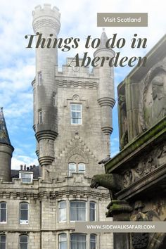 Learn about what to do in Aberdeen Scotland. Travel Aberdeen. Discover things to do in Aberdeen including day trips from Aberdeen. Explore beautiful Aberdeen Scotland. #Aberdeen #Scotland #UK Aberdeen Scotland, Scotland Uk, Scotland Travel, Weekend Trips, Day Trips, Weekend City Breaks, Stuff To Do, Things To Do, European City Breaks