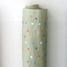 Nani Iro Kokka Japanese Stoff bunte Pocho Obstgarten 50cm
