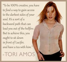 Something all artists know. - Tori Amos