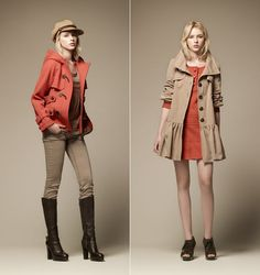 BURBERRY BLUE LABEL LookBook Fall/Winter 2011