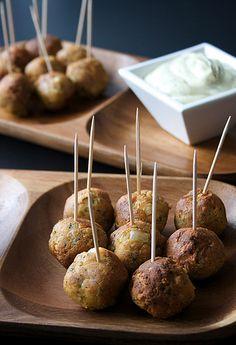 Tofu Balls by Elina Innanen, via Flickr (scroll down for recipe)