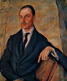 Portrait de Rainer Maria Rilke, vers 1920, Lou Albert-Lasard