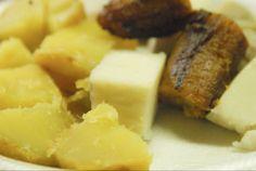 Comida típica de Puerto Rico  Viandas es como le llaman los boricuas a los tubérculos como el ñame, la yuca, la yautía, la malanga y la batata (camote).