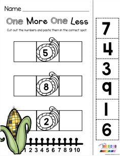 November Math and Literacy Pack – FREEBIES ONE MORE ONE LESS numbers and counting – November and Thanksgiving math worksheets – free resources and activities [. Kindergarten Math Worksheets, Kindergarten Teachers, Math Classroom, Teaching Math, Math Activities, Thanksgiving Math Worksheets, Thanksgiving Preschool, Montessori Math, Homeschool Math