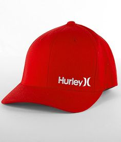 New red cap just in time for Valentine's Day! Hurley Corp Hat #buckle #fashion www.buckle.com