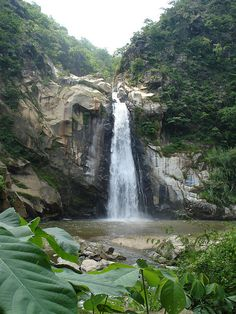 Puerto escondido waterfalls