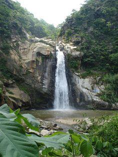 Puerto escondido waterfalls