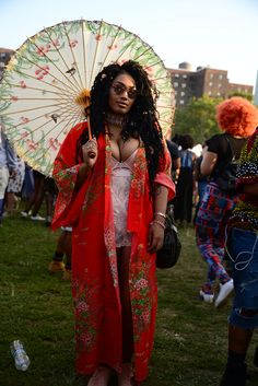 Outfit ideas The Most Epic Street Style Looks From Afropunk Fest 2017 Afropunk Fest 2017 Festival Looks, Festival Mode, Festival Outfits, Festival Fashion, Festival Makeup, Concert Outfits, Edm Festival, Punk Outfits, Rave Outfits