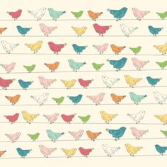 Little bird patterned papers – download for free, then print out to make beautiful cards.