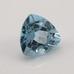 Swiss Blue Trillion Topaz (7.4) 13x13 mm Tri cut Rated: 8 / 5 based on 8 customer reviews $73 In stock Product description: Topaz makes an ideal gem. A good hardness and desirable colors, combined wit