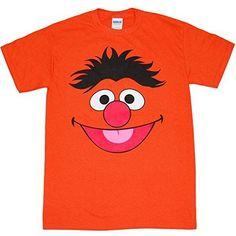 Sesame Street Ernie Face T-Shirt Ernie Tshirt
