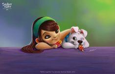 Sweet Kid Character #kid #character