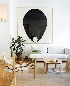 oversized minimalist art print. / sfgirlbybay