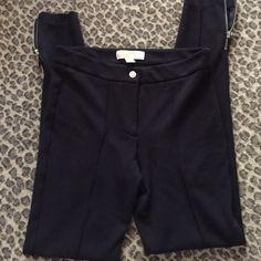 Michael Kors black leggings Cute zippers and soft stretch good condition Michael Kors Pants Leggings