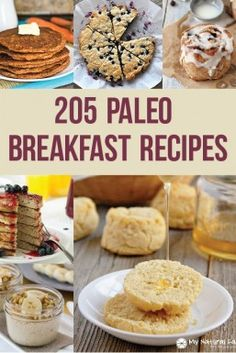 205 Paleo Breakfast Recipes