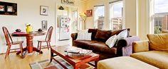 Husky Living Room. Commodore Duchess Apartments