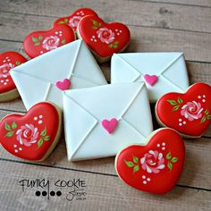 Love letters ... Funky cookie studio