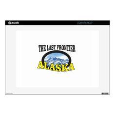 alaska logo art laptop skins Custom Brandable Electronics Gifts for your buniness #electronics #logo #brand