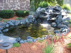 Small Garden Ponds And Waterfalls | Ponds and Waterfalls