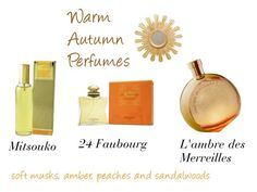"""Warm Autumn Perfumes"" by expressingyourtruth ❤ liked on Polyvore featuring beauty, Guerlain, Hermès and Worlds Away"