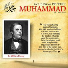"Ramakrishna Rao, said about the Prophet: ""The personality of Muhammad, it is most difficult to get into the whole truth of it. Only a glimpse of it I Arabic Quotes, Islamic Quotes, Islamic Messages, Le Prophete Mohamed, Islam And Science, Prophet Muhammad Quotes, Dr Williams, Islamic Phrases, Coran Islam"