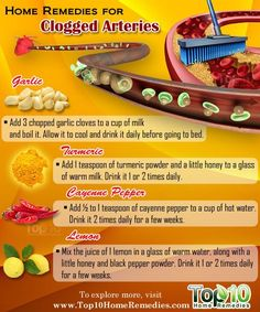Clogged Arteries: Home Remedies, Causes, and Prevention   Top 10 Home Remedies