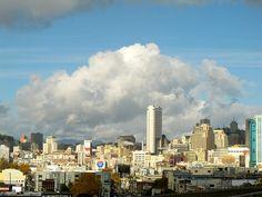 downtown glory of san francisco, 2011 San Francisco Skyline, New York Skyline, Travel, Viajes, Destinations, Traveling, Trips