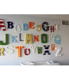 A t/m Z op de muur.