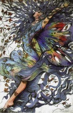 fairy sprite, Trudi Finch