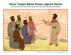 Jesus Taught About Prayer Jigsaw Puzzle