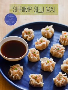 shrimp shu mai... so many delicious looking finger foods - i need to have people over