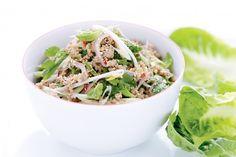 Pork larb salad