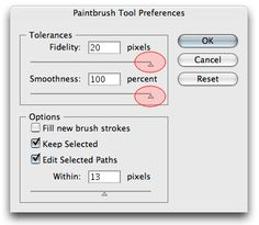 How to make Smooth Lines in #Adobe #Illustrator
