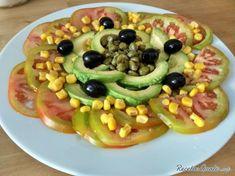 Receta de Ensalada de tomate y alcaparras
