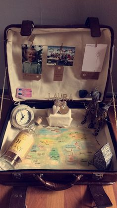 Een koffer over het leven. The suitecase of life