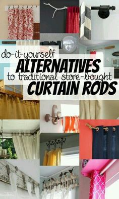 How to make curtains the no sew lazy way home improvement this will definitely come in handy with all the windows in our new place solutioingenieria Image collections