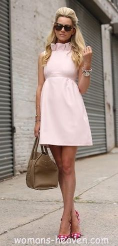 pink fashion style moda clothes wear picture image dress