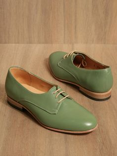 Dieppa Restrepo women's Breezy Cali Non-patent Shoes from S/S 11 collection in green